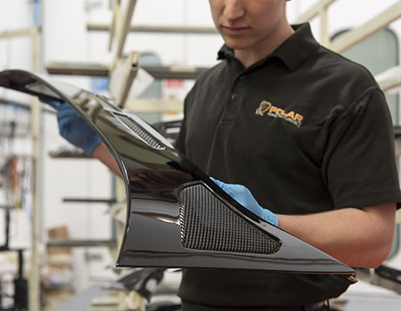Carbon fibre and composite design and manufacturing projects